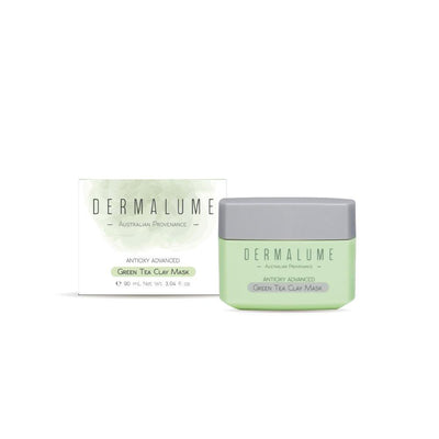 Antioxy Advanced Green Tea Clay Mask - Dermalume