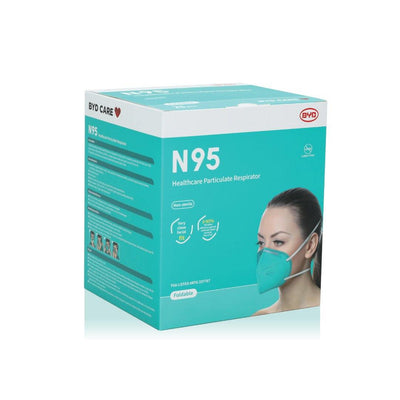 N95 Healthcare Particulate Respirator (Surgical Mask) - Dermalume