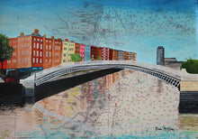 Load image into Gallery viewer, The Ha'Penny Bridge, Dublin
