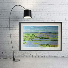 "Load image into Gallery viewer, Fermangh Lakes 27"" x 20"" (70cm x 50cm)"