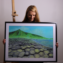 "Load image into Gallery viewer, Giants Causeway 27"" x 20"" (70cm x 50cm)"