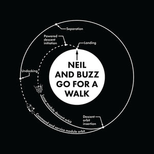 Neil and Buzz Go for a Walk - VISIONARY PRESS