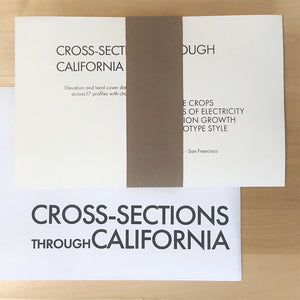 Cross-sections through California - VISIONARY PRESS