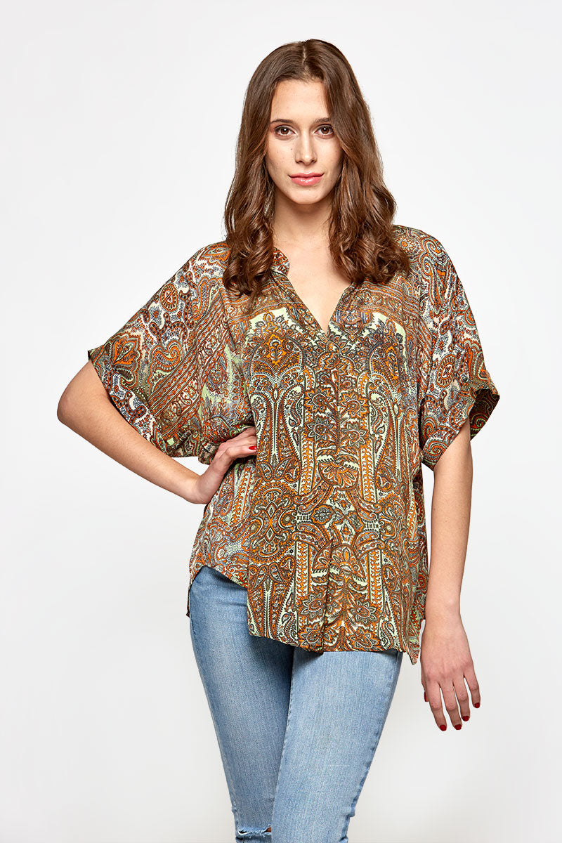 Thoughtful Top -Eco Couture  (assorted prints)