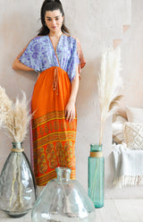 Beloved Dress Mixed Print - Upcycled Sari (assorted prints)