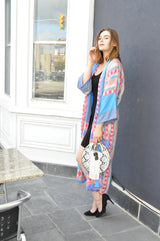 Long Rejuvenate Robe -UPCYCLED (assorted prints)