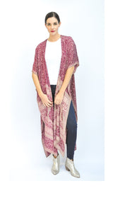 Theravada Kimono -Eco Couture  (assorted prints)
