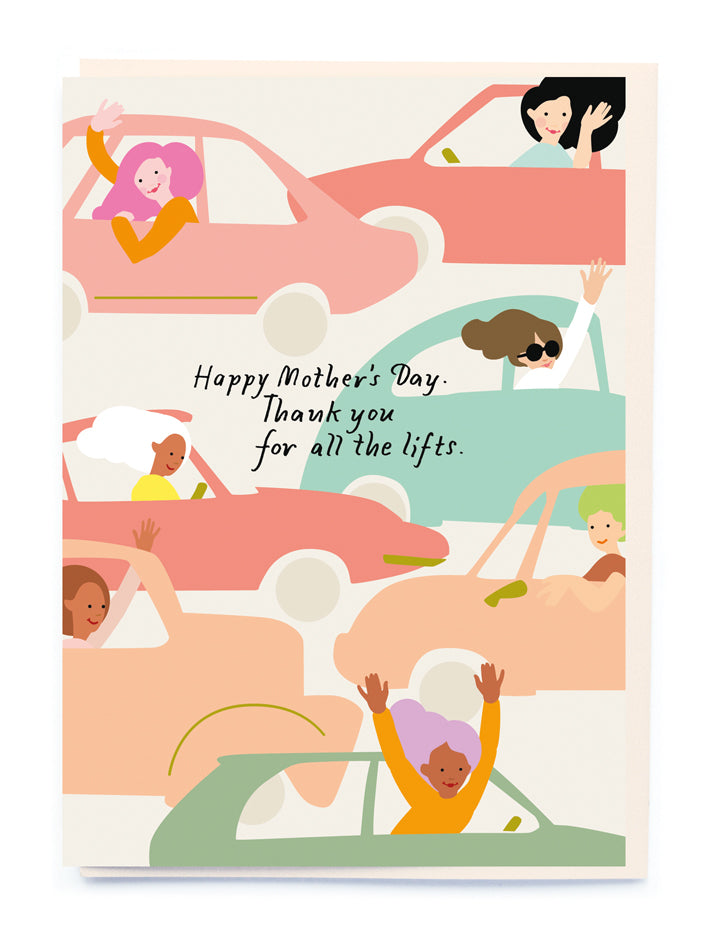 Mother's Day Taxi Card