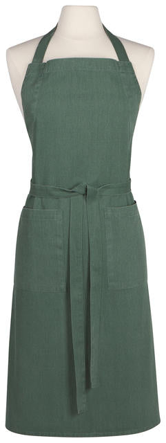 Apron Stonewash Heirloom Jade
