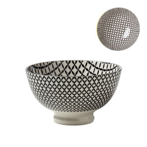 "Kiri 6"" Medium Bowl Wicker Weave"