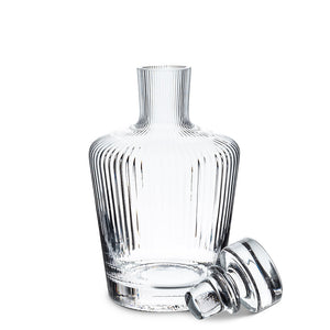 "Tight Optic Liquor Decanter 9""h"