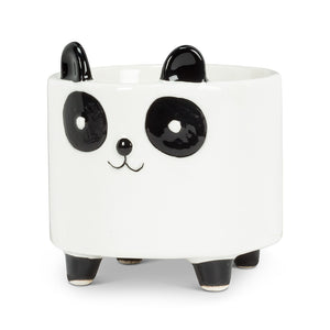 "Small Panda On Legs Planter 3.5""H"