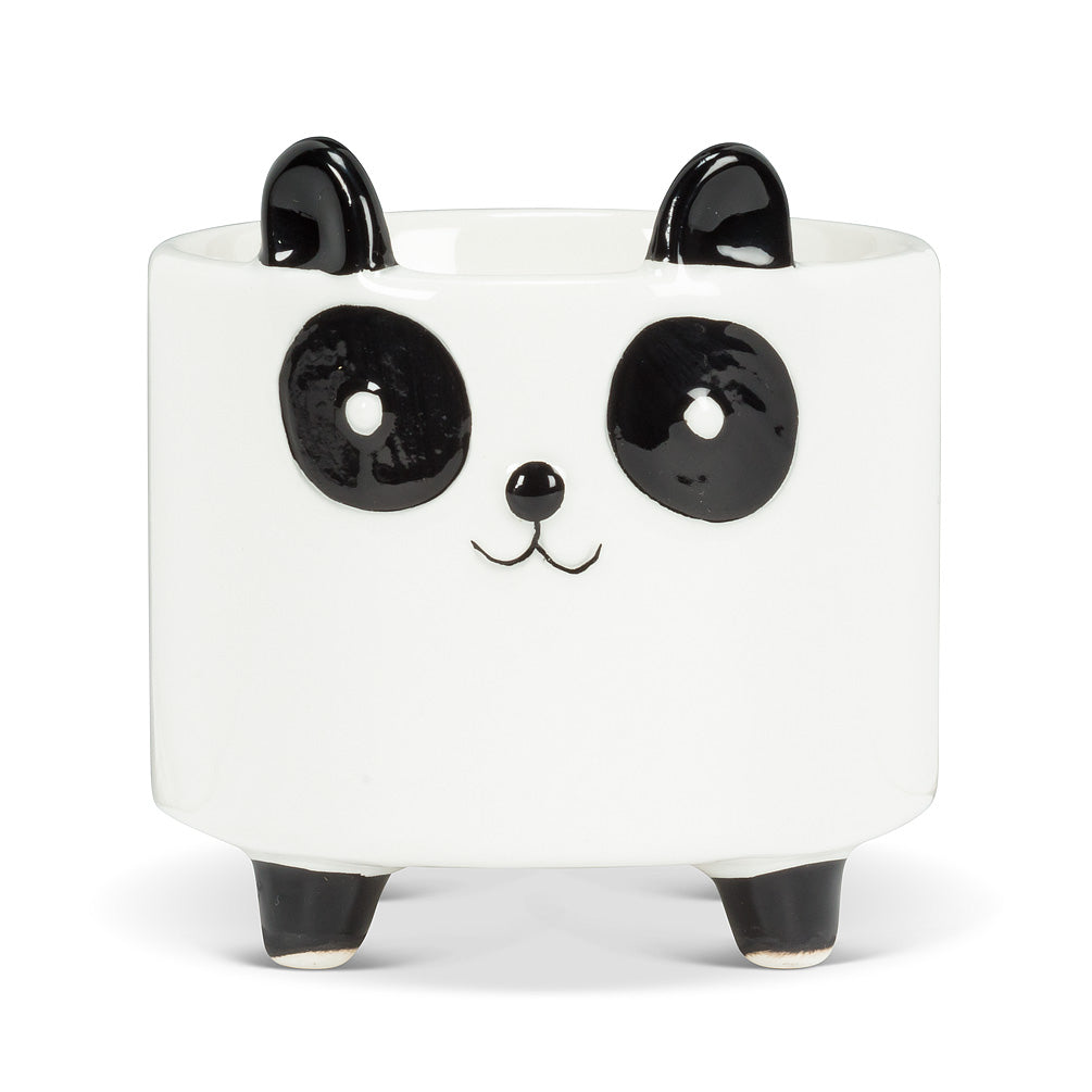 Small Panda On Legs Planter 3.5