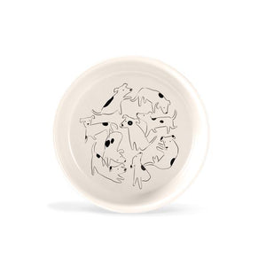 Nosey Dog Spot Medium Bowl