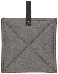 Pot Holder Sawyer Black Denim