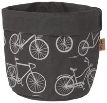Load image into Gallery viewer, Papercraft Basket Planter Medium Wild Riders