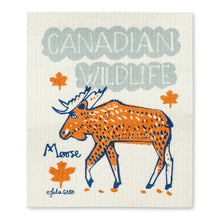 Load image into Gallery viewer, Swedish Dishcloths Set of 2 Canadian Wildlife