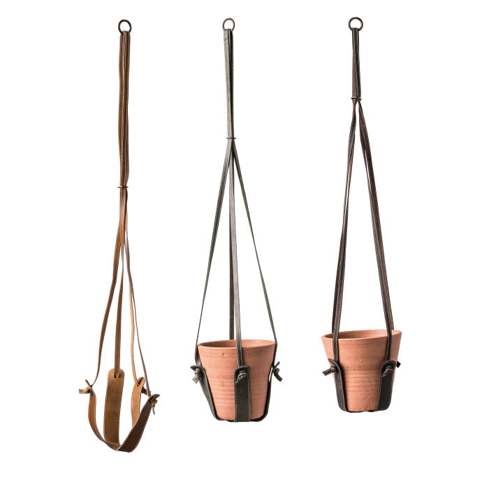 Leather Flower Plant Hanger (Strap Only) 39