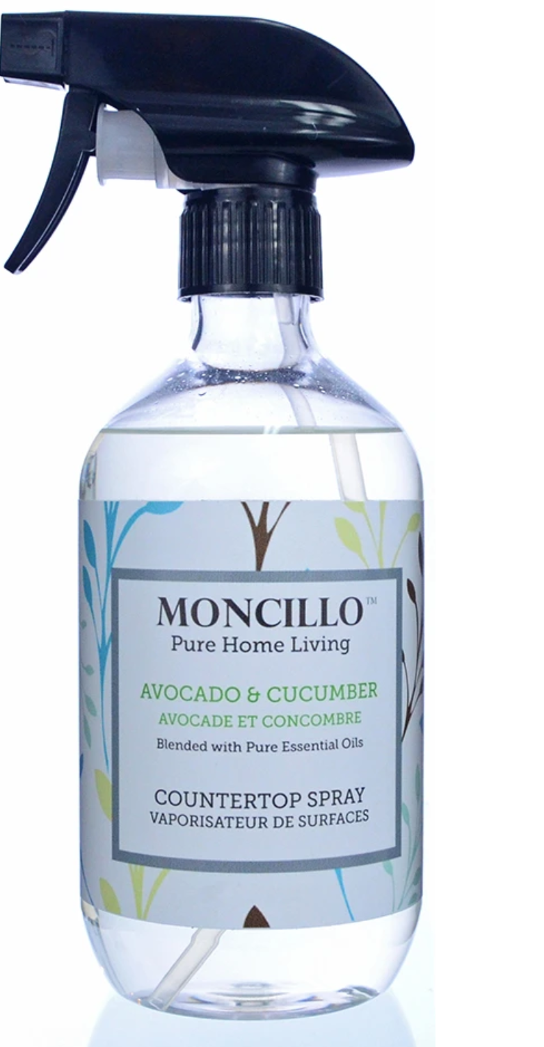 Moncillo Countertop Cleaning Spray Avocado Cucumber 473ml