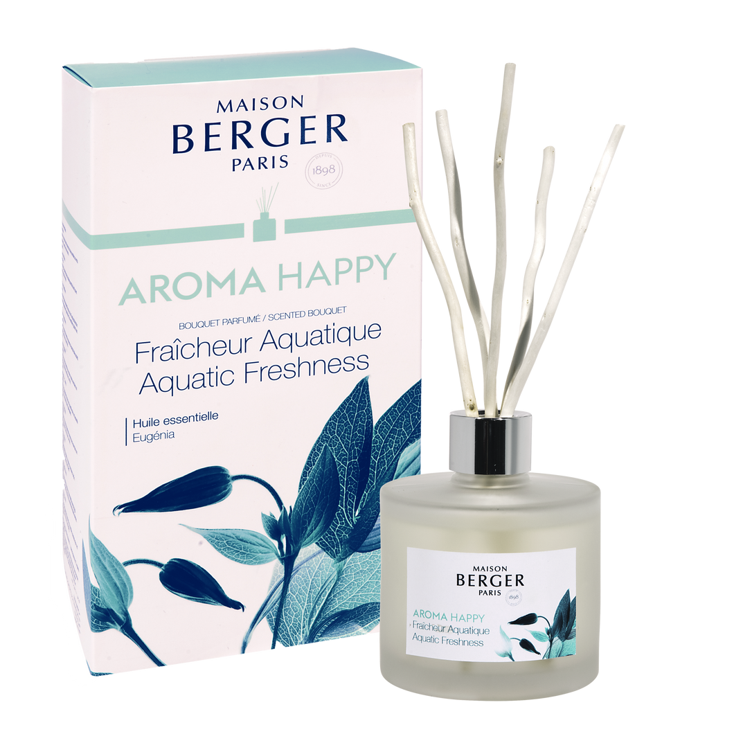 Aroma Happy Aquatic Freshness Reed Diffuser