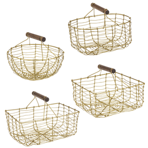 Gold Mini Basket