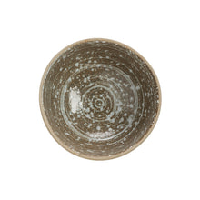 "Load image into Gallery viewer, Stoneware Footed Bowl, Speckled Glaze 4-1/2"" Rnd x 2""H"