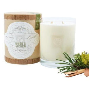 Moss & Lichen 11oz Two Wick Candle