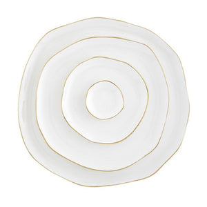 Ceramic Tray Small White