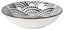 Load image into Gallery viewer, Bits & Dots Pinch Bowls Set of 6 Dots Black