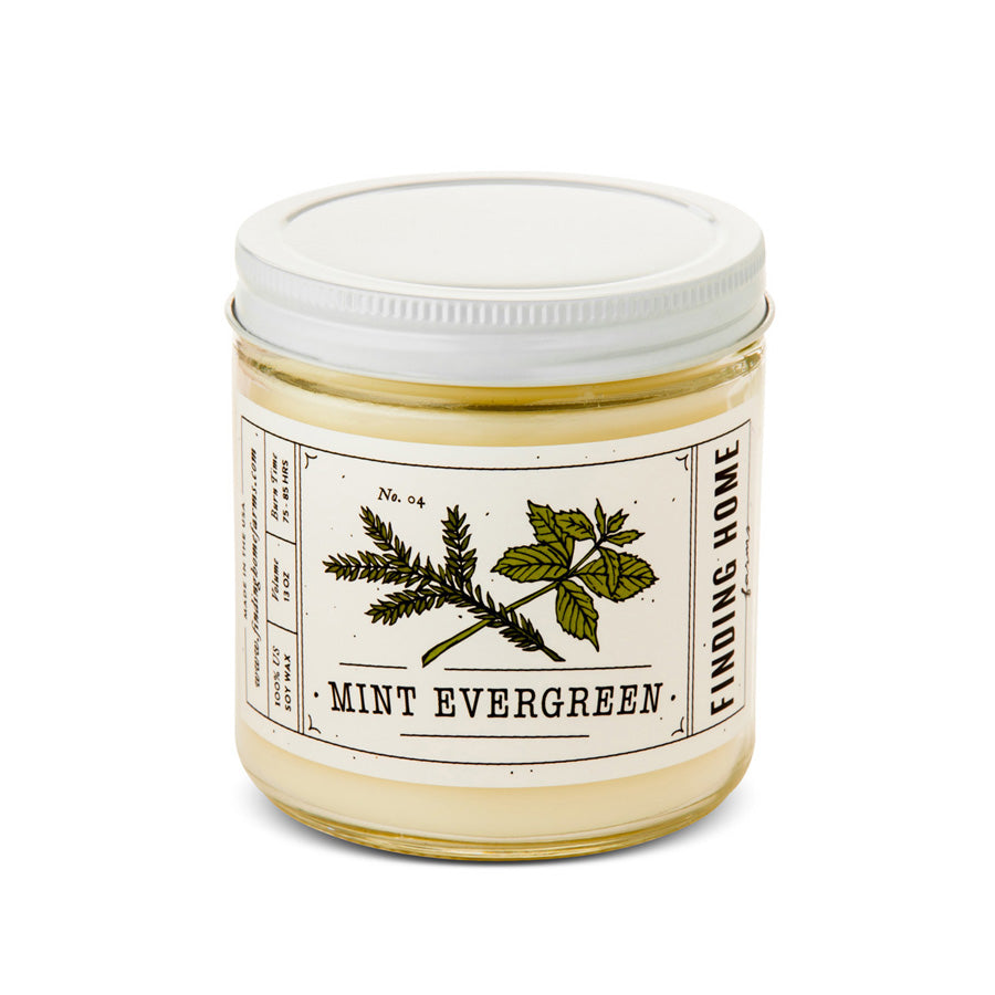 Signature Collection 13Oz Mint Evergreen Soy Candle
