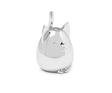 Load image into Gallery viewer, Squiggy Cat Chrome Ring Holder