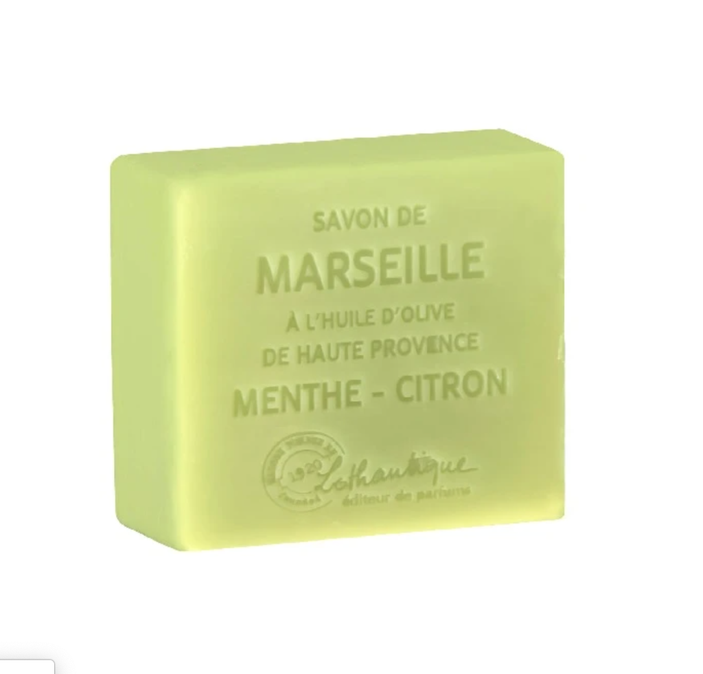 Savon Marseille Mint-Lemon