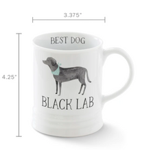 Load image into Gallery viewer, JS Black Lab Georgia Mugs