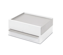 Load image into Gallery viewer, Stowit Storage Box White Nickel