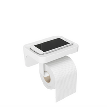 Load image into Gallery viewer, Flex Toilet Paper Holder/Shelf