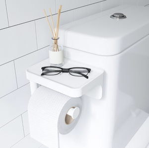 Flex Toilet Paper Holder/Shelf