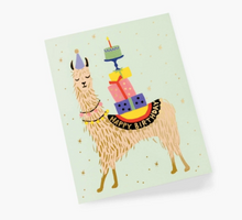 Load image into Gallery viewer, Llama Birthday Card