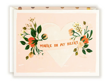 Load image into Gallery viewer, YOU'RE MY HEART CARD
