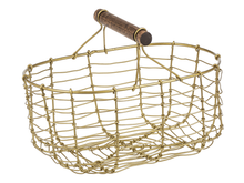 Load image into Gallery viewer, Gold Mini Basket