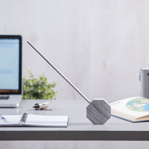 Octagon One Desk Lamp Ash