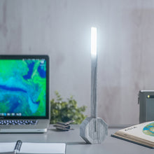Load image into Gallery viewer, Octagon One Desk Lamp Ash