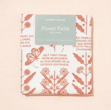 Load image into Gallery viewer, Flowers Fields Tea Towel