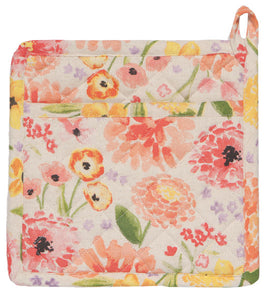 Cottage Floral Classic Pot Holder