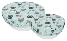 Load image into Gallery viewer, Cats Meow Bowl Cover Set of 2