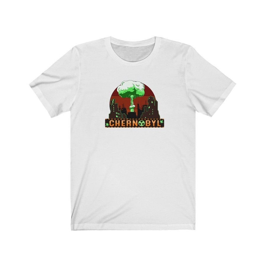 Chernobyl Cannabis Strain Shirt - Studio Greenleaf Premier Cannabis Merchandise | Weed Peripheral | Weed Clothing | Weed Pins
