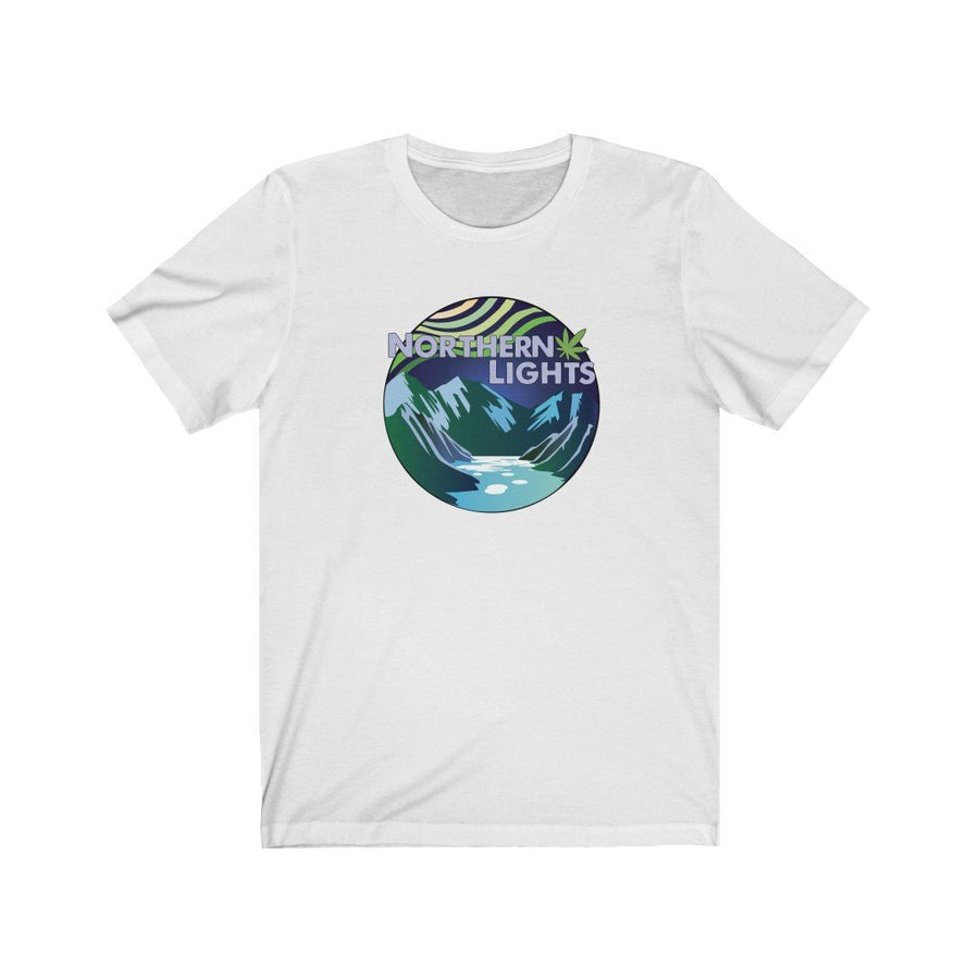 Northern Lights Cannabis Strain Shirt - Studio Greenleaf Premier Cannabis Merchandise | Weed Peripheral | Weed Clothing | Weed Pins
