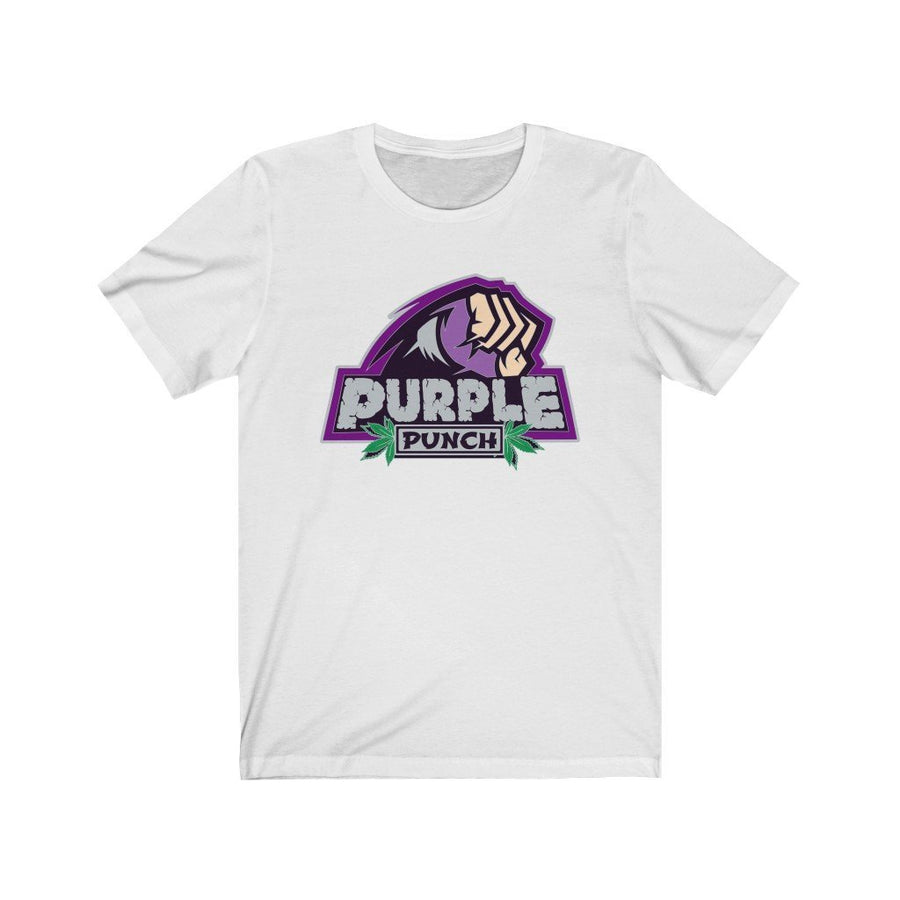 Purple Punch Cannabis Strain Shirt - Studio Greenleaf Premier Cannabis Merchandise | Weed Peripheral | Weed Clothing | Weed Pins