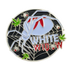 White Widow Cannabis Pin