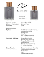 Load image into Gallery viewer, Zaharoff Signature Pour Homme  EDP