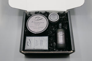 Zaharoff x Roger LG Smiley / Zaharoff x Gentleman's Nod Signature NOIR Gift Set Limited Edition